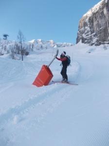 Controllo augelli... poca neve!