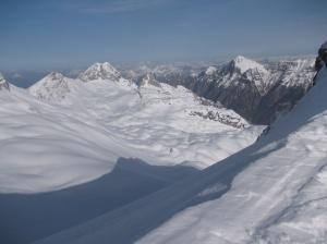 Vista verso il monte Sart