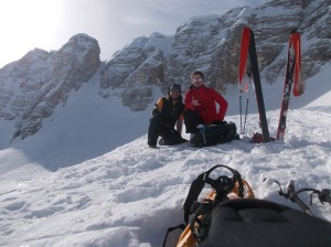 Sella Ursic, 2280 metri slm
