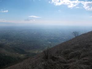 Rientrando lungo il Viath Luonc, magnifico scorcio verso la pianura