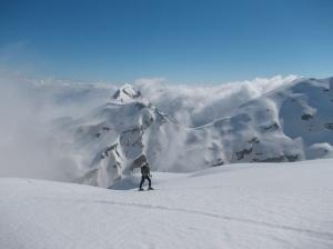 Cima Val Grande e la Caulana