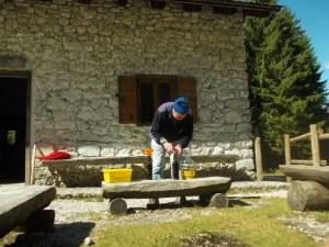 Preparativi per l'apertura a casera Casavento