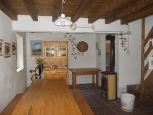 Il magnifico interno della Casera