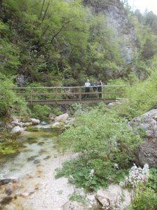 Le donne quasi alla fine dell'escursione