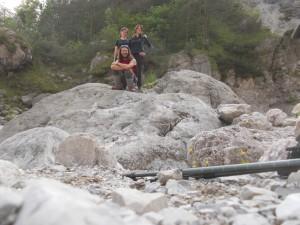Eccoci sul torrente Suisaibes