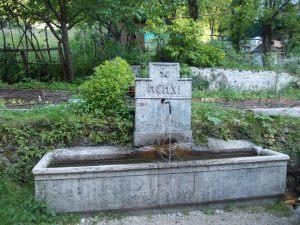 La fontana di Borgo di Mezzo