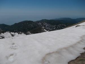 Dal Colombera, vista verso il Col Cornier