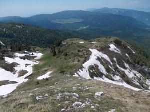 Il Belvedere e la piana del Cansiglio