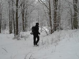 Piancavallo, 13 dicembre 2012, una delle mie primissime camminate