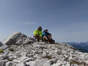 Caserine Alte, 2306 metri slm