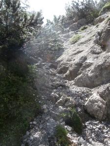 Canale di salita