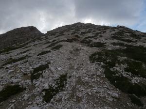 La dorsale del monte Ferrara
