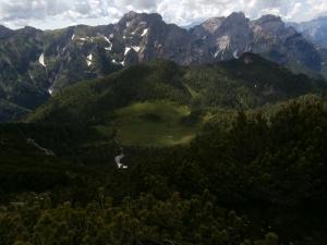 Casera Bregolina Grande e Monte Turlon