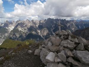 Cima del monte Ferrara