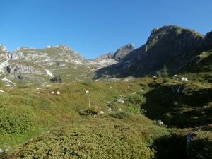 Val Sughet. Cima Palantina, cima Manera e Cimon dei Furlani