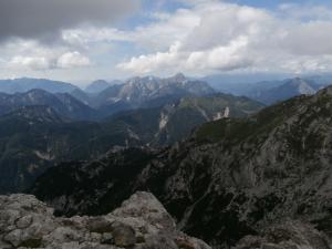 In relax con vista verso Sernio e Grauzaria