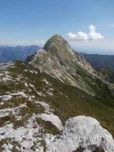 La Caulana e la sua cresta