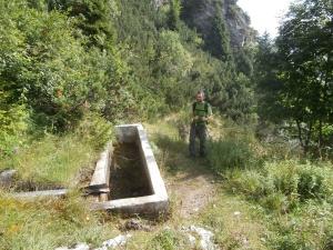 La fontanella prima della casera