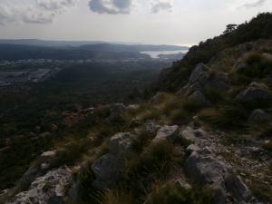 Vista verso il Golfo di Trieste
