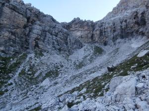 Val de Laussen e forcella La Spalla