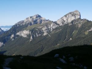 Il Monte Borgà e La Palazza