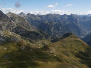 Vista verso passo Monte Croce Carnico
