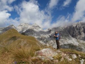 Sulla cima del monte Floriz