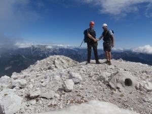 Monte Sernio, 2187 metri slm. Complimenti Michele!