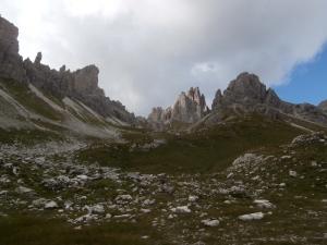 Val Monfalcon di Forni. Panorama eccezionale!
