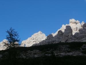 Cima Porton di Monfalcon e cima Pecoli