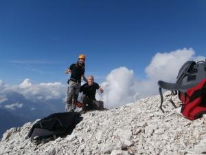 Cima dello Sfornioi di Mezzo, 2425 metri slm