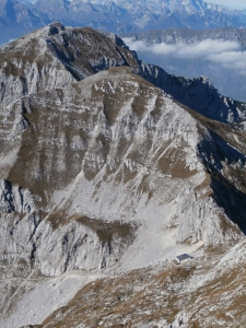 Rifugio Semenza, monte Cornor e monte Castelat