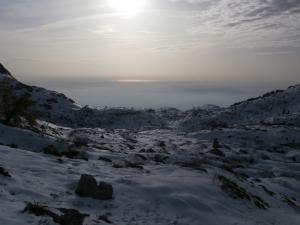In val Sughet, vista verso valle
