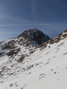 Monte Palantina e l'omonima forcella