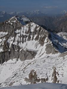 Rifugio Semenza e monte Cornor