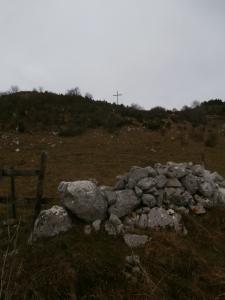 Poco sotto la croce di Busa Bravin
