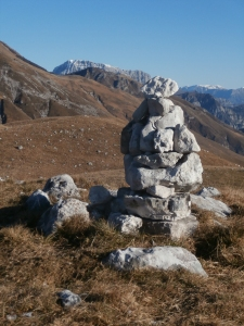 Dalla cima del monte Caseratte, il Raut