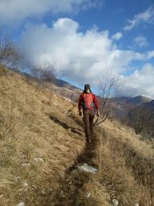 Lento andar per monti, la contrapposizione del caos della pianura