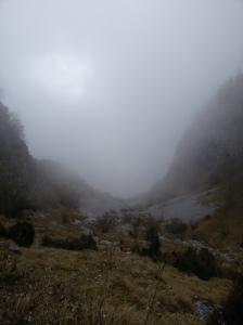 Si scende per la Val Grande