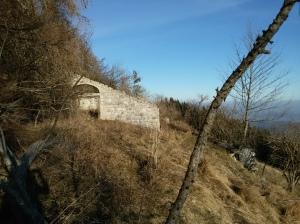 Ruderi di casera di Pala Brazana