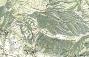 Mappa Ciaurlec