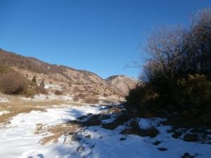 Nei pressi della Val de Lama