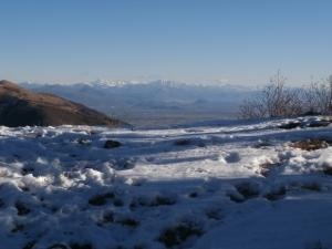 Balcone sulle Alpi Giulie