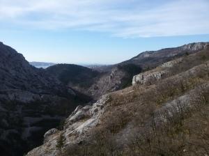 Bella vista verso il golfo di Trieste