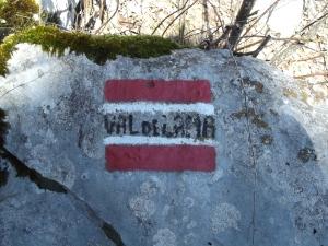 Il vecchio sentiero della Val de Lama