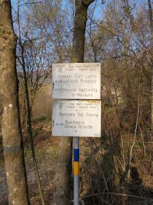 Inizio del sentiero Viath Luonc