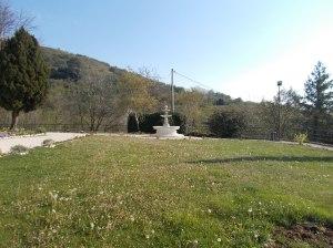 Il giardino del Santuario