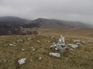 Monte Caseratte, 1264 metri slm