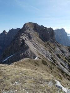 Monte Ferrara dall'anticima