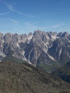 Val Montanaia con il suo Campanile e val Monfalcon di Cimoliana
